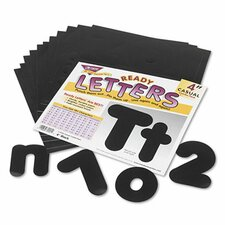 "Ready Letters Casual Combo Set, 4""H, 182/Set"