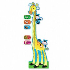 <strong>Trend Enterprises</strong> Giraffe Growth Chart Bulletin Board Set