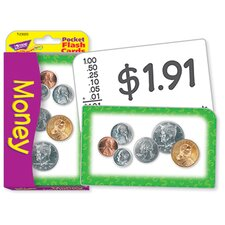 Pocket Flash Cards Money 56-pk