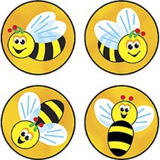 Superspots Stickers Bees Buzz