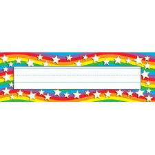 Star Rainbow Desk Toppers Name