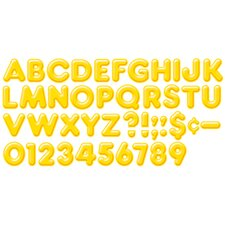 Ready Letters 4inch 3-d Yellow