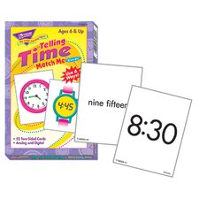 Match Me Cards Telling Time 52/box