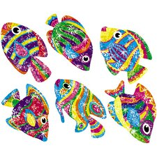 Sparkle Stickers Flashy Fish