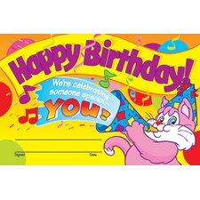 Awards Happy Birthday 30/pk 5 X 8