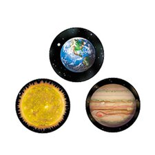 Superspots Stickers Solar System