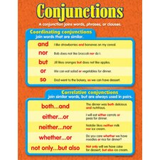 Chart Conjunctions Gr 3-6