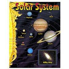 Chart Solar System 17 X 22 Gr 2-8