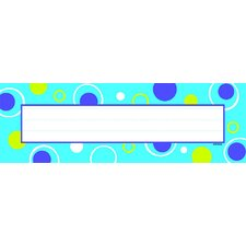 Blue Fizz Desk Topper Name Plates