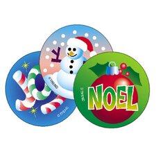 Stinky Stickers Christmas 60/pk