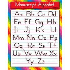 Chart Manuscript Alphabet