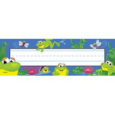 Desk Toppers Frog Pond 36/pk 2x9