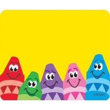 Name Tags Colorful Crayons 36/pk