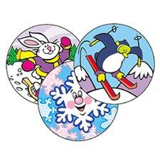 Stinky Stickers Wintertime Fun 60pk