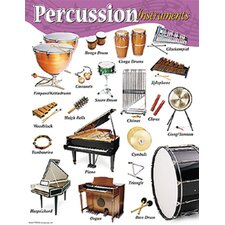 Chart Percussion Instruments Gr K-8