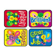 Applause Stickers Bright 100/pk