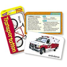 Pocket Flash Cards Transportation