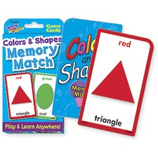 <strong>Trend Enterprises</strong> Challenge Cards Colors And Shape