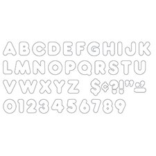 Ready Letters 2 Inch Casual White