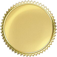 Award Seal Gold Burst (32 seals per box)