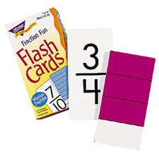 Flash Cards Fraction Fun 96/box
