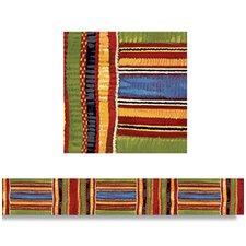 Kente Cloth Borders Straight Edge