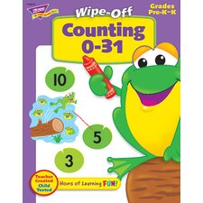 <strong>Trend Enterprises</strong> Counting 0-31 28pg Wipe-off Books