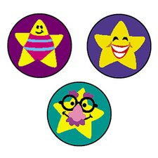 Superspots Stickers Silly Stars