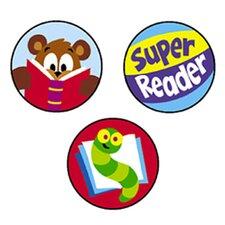 Superspots Stickers Reading Celebra