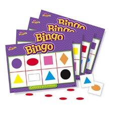 Bingo De Colores Y Figuras Old T086