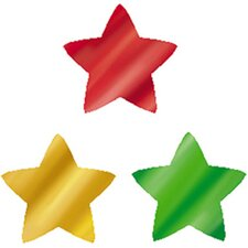 Supershapes Colorful Foil Stars