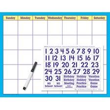 Reusable Calendar Cling Numerals