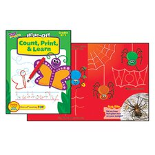 Count Print & Learn Wipe-off Book