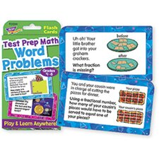 Challenge Cards Test Prep Math