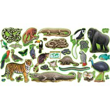 Bb Set Rain Forest Animals 2 Press