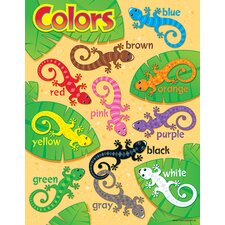 Learning Chart Color Critters