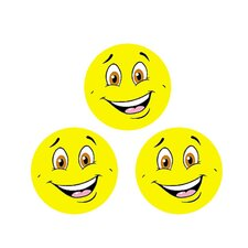 Stinky Stickers Yellow Smiles/lemon