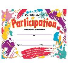 Certificate Participation 30/pk