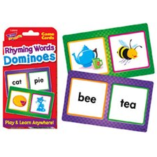 <strong>Trend Enterprises</strong> Challenge Cards Rhyming Words Domin
