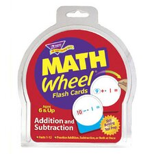 Math Wheel Flash Cards 12/pk