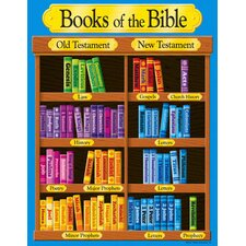 <strong>Trend Enterprises</strong> Books Of The Bible Learning Chart