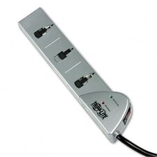 Surge Suppressor, 7 Outlet, Rj11, 7Ft Cord, 1080 Joules