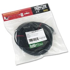 CAT5e Molded Patch Cable, 50 ft., Black