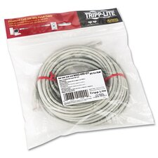 CAT5e Molded Patch Cable, 50 ft., Gray