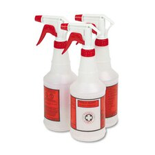 Plastic Sprayer Bottles, 3 Bottles/Pack