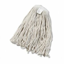 Cut-End Wet Mop Head, Cotton, #20 Size (Set of 15)