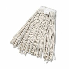 Cut-End Wet Mop Head, Cotton, #24 Size