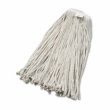 Cut-End Wet Mop Head, Cotton, #32 Size