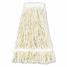 Pro Loop Web/Tailband Wet Mop Head, Cotton