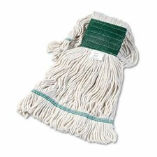 Super Loop Wet Mop Head, Cotton/Synthetic, Medium Size